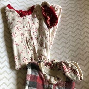 Burts Bees Footed Infant Pajamas